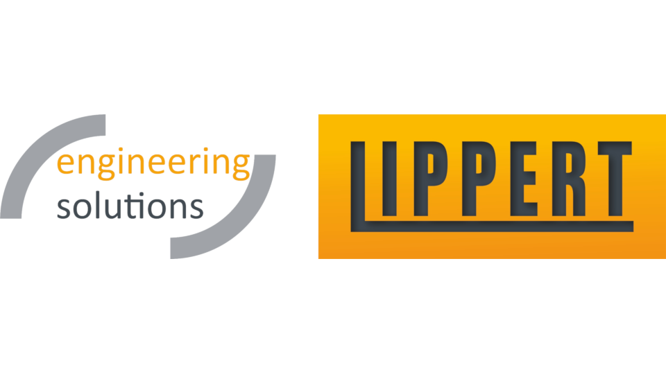 Logo: LIPPERT - engineering solutions